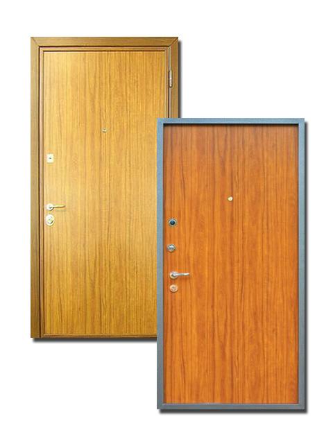 стандартная металлическая дверь дешево